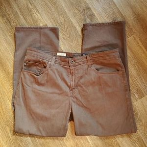 AG Adriano Goldschmied Brown Jeans Size 38x34